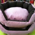Cuna microfibra rosa
