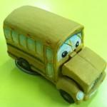 Autobús de cerámica