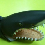Cabeza de tiburón blanco