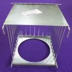 Porta nido exterior zincado RSL