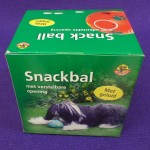 Pelota Snack-ball con sonido