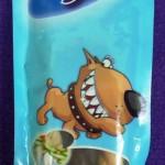 snacks con forma de cuerdas dentales